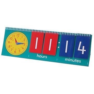 Flip chart na učení hodin - učitel ( 1ks) (5060138824119)