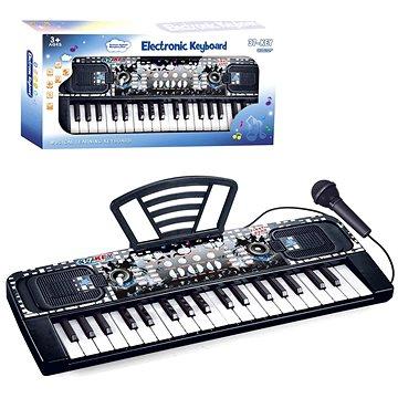 Piáno elektronické, 37 kláves, s mikrofonem (8590756109154)