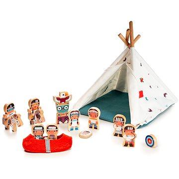 Lilliputiens - Vigvam a indiáni (5414834831467)