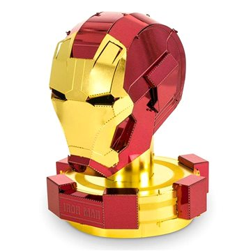 Metal Earth 3D puzzle Avengers: Iron Man - helma (32309033243)