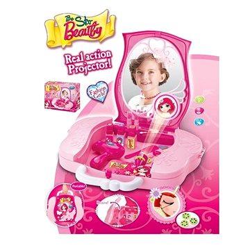 G21 Dětský kosmetický kufřík s příslušenstvím s projekcí (008-809)