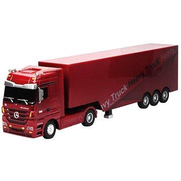 Siva Kamion Mercedes-Benz Actros - červená (4260371080384)