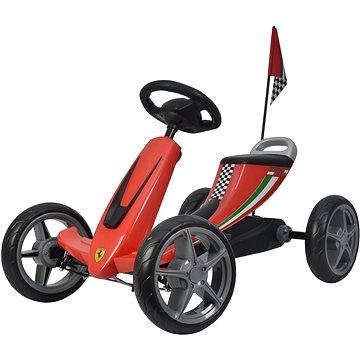 Buddy Toys šlapací kára - červená (8590669252336)