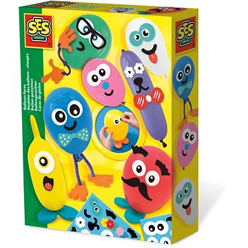 SES Tvoření obličejů na nafukovacích balonkách (8710341140168)