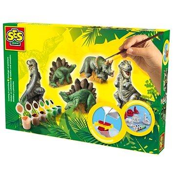 SES Sádrový trojkomplet – dinosauři (8710341014063)
