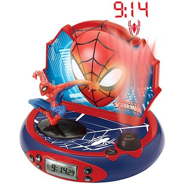 Lexibook Spider-Man Hodiny s projektorem a zvuky (3380743027159)