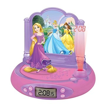 Lexibook Princezny Hodiny s projektorem a zvuky (3380743070346)