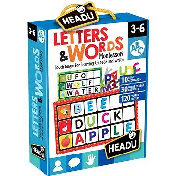 Montessori - Bingo - Písmena a slova (8059591420980)
