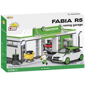 Cobi Škoda Fabia R5 Racing garáž (5902251245801)