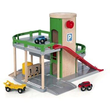 Brio World 33204 Patrová parkovací garáž s výtahem (7312350332049)