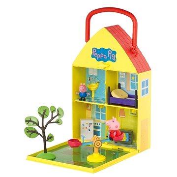 Prasátko Peppa - Domeček se zahrádkou + figurka a příslušenství (5029736061562)