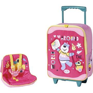 BABY born Kufřík se sedačkou pro panenky (4001167828441)