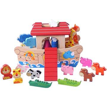 Dřevěná loď Noemova archa (22786)