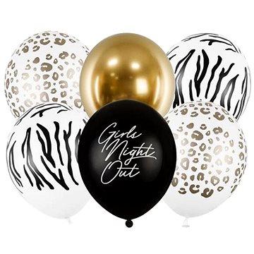 "Sada latexových balónků ""girls night out"" - rozlučka se svobodou - 30 cm - 6 ks (5900779180048)"
