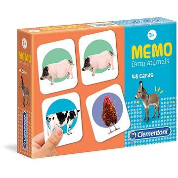 Memo pexeso hospodářská zvířata (8005125180820)