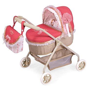 DeCuevas 86033 Můj první kočárek pro panenky s taškou a doplňky Martina 2020 (4897022860332)