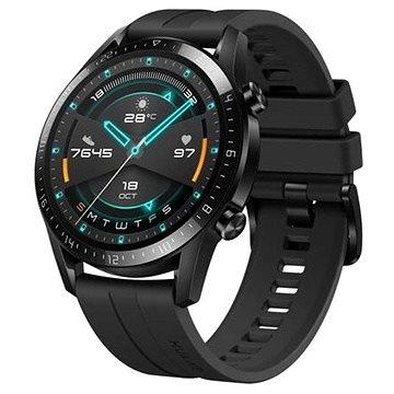 Huawei Watch GT 2 46 mm Black Fluoroelastomer Strap (55024474)
