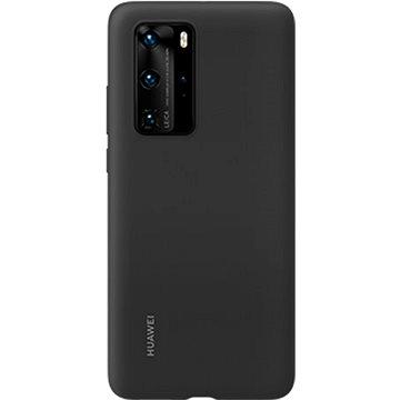 Huawei Original Silikonové Pouzdro Black pro P40 Pro (51993797)