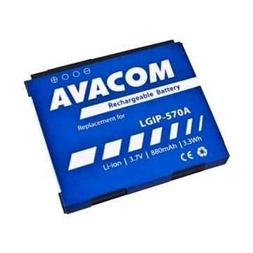 Avacom pro LG KP500 Li-Ion 3.7V 880mAh (náhrada LGIP-570A) (GSLG-KP500-S880A)