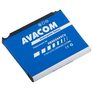 Avacom pro Samsung SGH-G800, S5230 Li-Ion 3,7V 1000mAh (náhrada AB603443CU) (GSSA-G800-S1000)