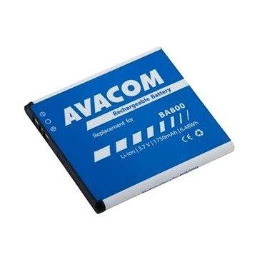 Avacom pro Sony Ericsson Li-Ion 3,7V 1750mAh (náhrada BA800) (GSSO-BA800-S1750)