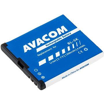 Avacom pro Nokia C7, C7-00, N85, N86, X1-01 Oro, X7-00 Li-Ion 3,7V 1200mAh (GSNO-BL5K-S1200A)