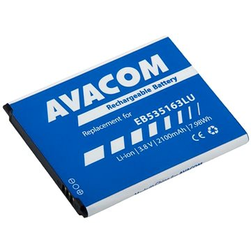 Avacom pro Samsung Grand Neo Li-Ion 3,8V 2100mAh, (náhrada EB535163LU) (GSSA-I9060-S2100)