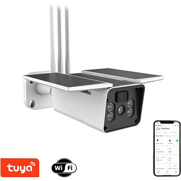 Immax NEO LITE Smart Security Venkovní kamera Solar Racket solární (07719L)