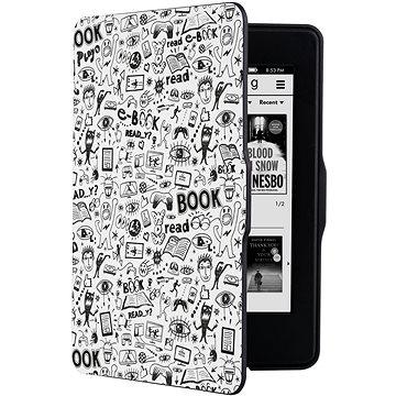 CONNECT IT CEB-1031-WH pro Amazon Kindle Paperwhite 1/2/3, Doodle White (CEB-1031-WH)
