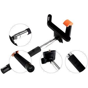 Gogen BT Selfie 2 teleskopická černá (GOGBTSELFIE2B)