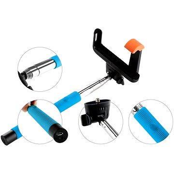 Gogen BT Selfie 2 teleskopický modrý (GOGBTSELFIE2BL)