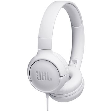 JBL Tune 500 bílá (JBLT500WHT)