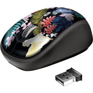 Trust Yvi Wireless Mouse, papoušek (23387)