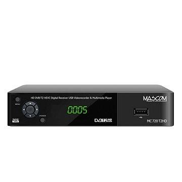Mascom MC720T2 HD DVB-T2 H.265/HEVC (V004b12c)