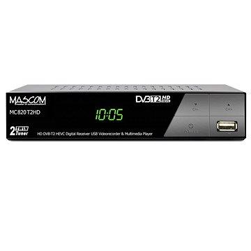 Mascom MC820 T2 HD Twin tuner H.265 HEVC (V004b12i)