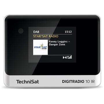 TechniSat DIGITRADIO 10 IR černá/stříbrná (V057f29)