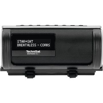 TechniSat DIGITRADIO Bike 1 černá/stříbrná (V057f11b)