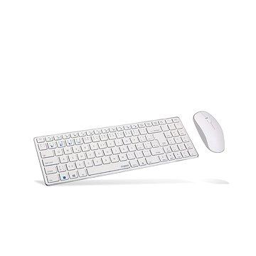 Rapoo 9300M Set, bílá - CZ/SK (Rapoo 9300MW)