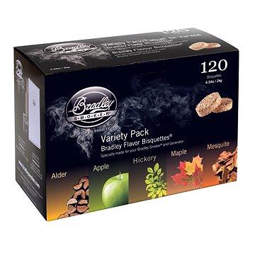 Bradley Smoker - Brikety Premium Five Flavour Varieties 120ks (689796800256)