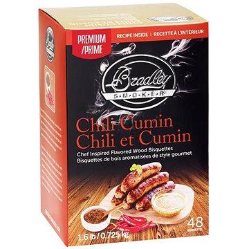 Bradley Smoker - Brikety Premium Chilli Cumin 48ks (689796220030)