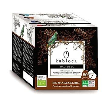 Kabioca BIO kompostovatelné kávové kapsle pro Nespresso Espresso 50ks (KB233491)