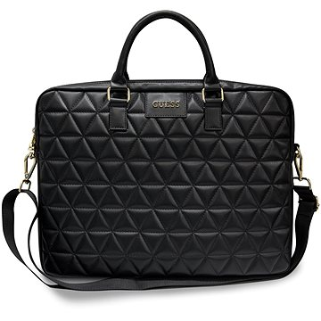 """Guess Quilted pro Notebook 15"""" Black (3700740469323)"""