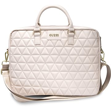 """Guess Quilted pro Notebook 15"""" Pink (3700740469316)"""