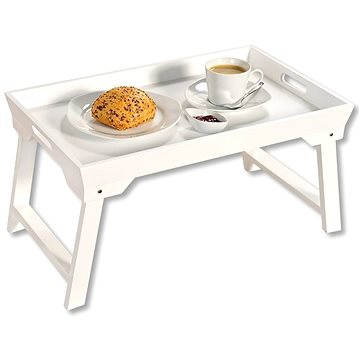 Kesper Servírovací podnos / stolek bílý (77076)