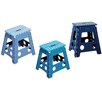 Kesper Stolička plastová vysoká modrá (70518)