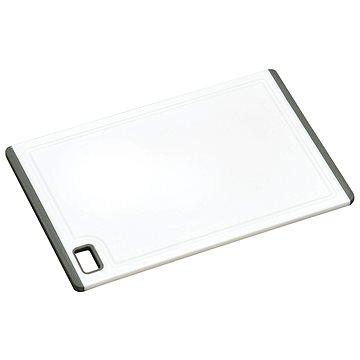 Kesper Prkénko plastové bílé, protiskluzová guma 30x20 cm (30890)