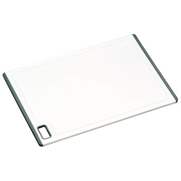 Kesper Prkénko plastové bílé, protiskluzová guma 36x25 cm (30891)