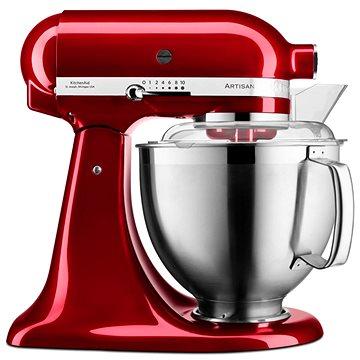 KitchenAid Artisan Robot model 185 červená metalíza (5KSM185PSECA)