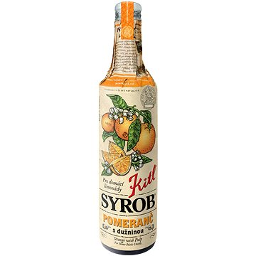 Kitl Syrob Pomeranč s dužninou 500 ml (8595251001729)
