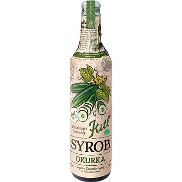 Kitl Syrob Okurka Bio 500 ml (8595251001408)